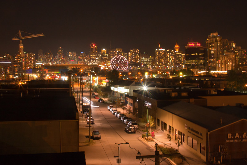 Vancouver - from Tegan's Apartment
