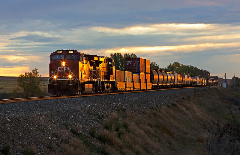 Mixed Freight Train
