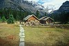 """Elizabeth Parker Hut - Lake Ohara Region - Yoho National Park <br /> <br />  The Lake OHara region has hands down the best hiking in the world! I have hiked the Lake Ohara region for more than 30 years, and it is to die for! <br /> <br /> The area has a rich history, and  probably my favorite early visitor to Lake Ohara is Lillian Gest, 1897-1986, of Merion, Pennsylvania, who  visited the Canadian Rockies almost every summer for sixty years, and oh what she accomplised.... What an amazing woman!<br /> <br />  A favorite stop for me to do research on the early years of Banff National Park, Jasper National Park, and Yoho National Park, is the Whyte Museum in Banff.<br /> <br /> This is a pre-digital-age photo, shot on Kodachrome 64.<br /> <br /> <br /> <a href=""""http://ve6ab.blogspot.com/2009/08/lake-ohara.html"""">http://ve6ab.blogspot.com/2009/08/lake-ohara.html</a>"""