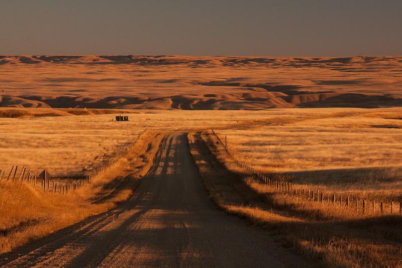 Sunrise - The Wintering Hills - Southeastern Alberta