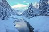 Winter In The Alberta Rockies