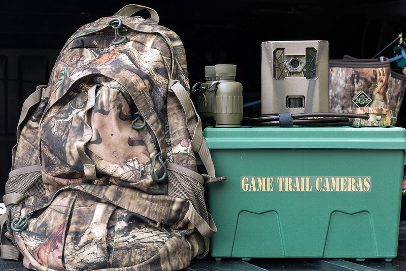 Trail Cam Storage