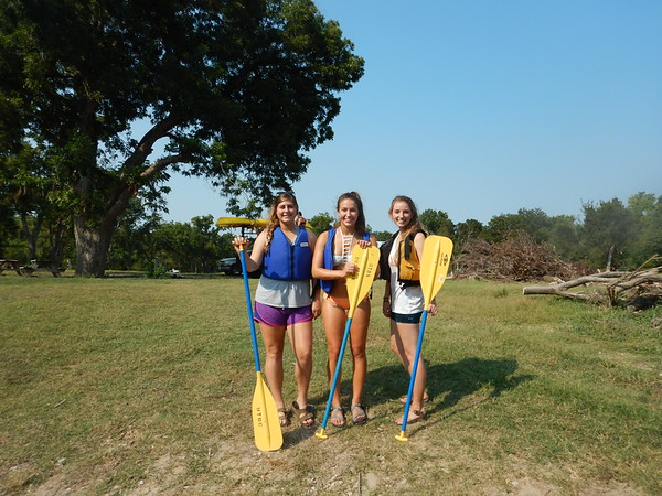 Canoeing San Marcos RIver- Staff