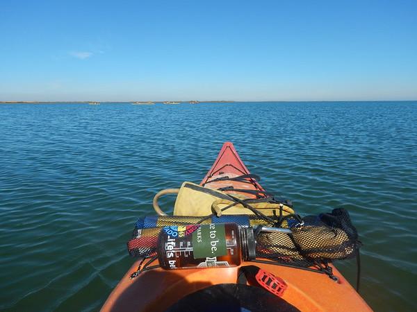 Matagorda Sea Kayaking February 2016