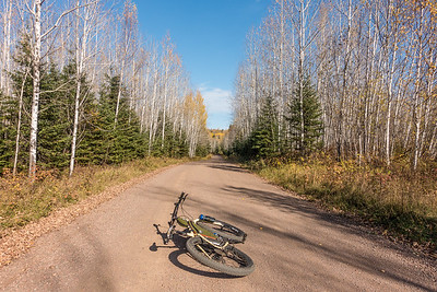 Murmur Creek Road - Cook County, MN  BIKING 06817