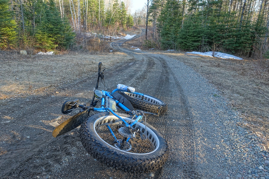 """BIKING 09857<br /> <br /> """"First gravel ride of the year with the Ice Cream Truck""""<br /> <br /> Grand Portage, MN"""
