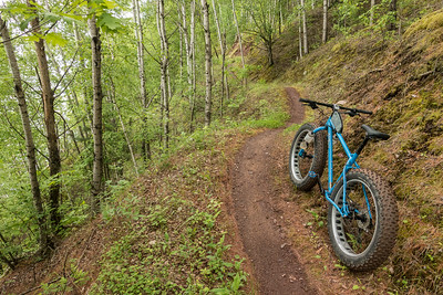 BIKING 00648  Sidewinder Trail  Cuyuna Country State Recreation Area - Crosby/Ironton, MN