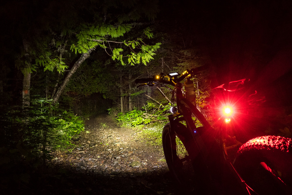 "BIKING 04986<br /> <br /> ""Night Riding"""
