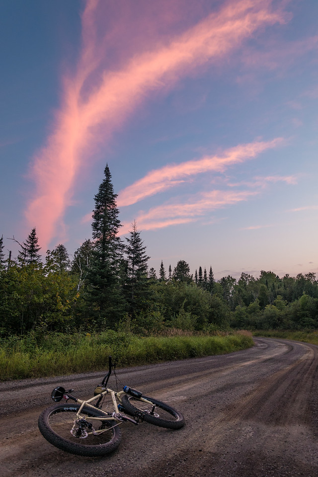 """BIKING 06510<br /> <br /> """"Escaping Common Reality""""<br /> <br /> Grand Portage, MN"""