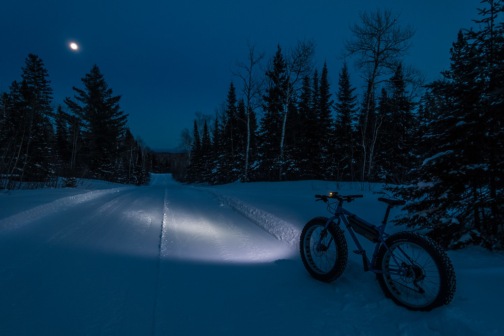 "BIKING 05339<br /> <br /> ""Zero Degree Moonlight Ride""<br /> <br /> Grand Portage, MN"