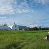 Creamer's Field Migratory Waterfowl Refuge in Fairbanks, Alaska.