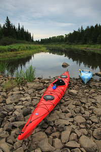 "KAYAKING 9022  ""Low water on the Pigeon""  Pigeon River - Grand Portage, MN"
