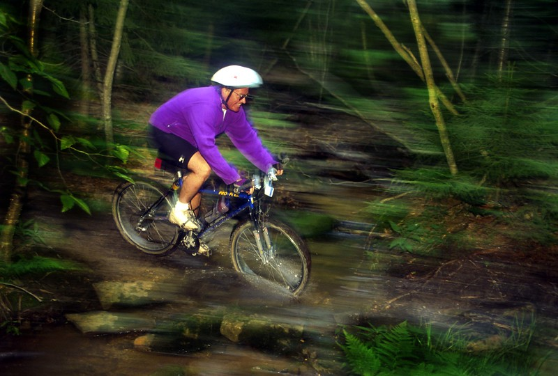 MountainBikerBlur