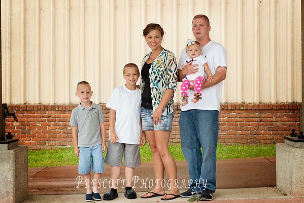 Prichett Family 6/4/14