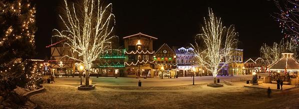 Near Midnight Pan in Leavenworth, WA