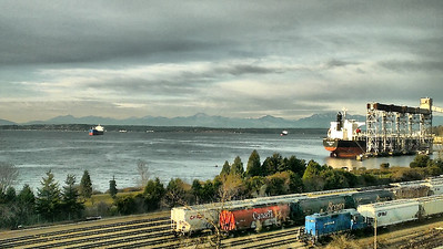 Seattle Waterfront from F5 Networks 2013