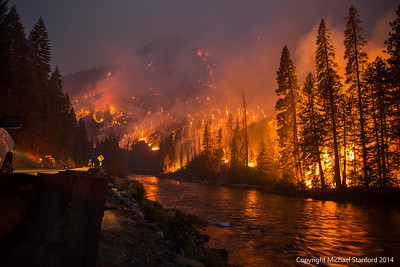 Tumwater Canyon Fire _ July 2014