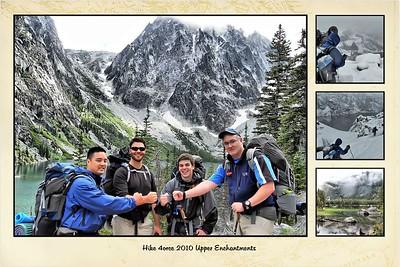 2010 Upper Enchantments Hike with Dan, Jim, Jake, Mike, at Colchuck Lake