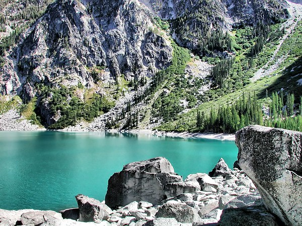 Colchuck Low Water - Some Time Ago