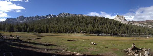 Low water at Lake Mary - 2012 - Mammoth Lakes, CA (Crop)
