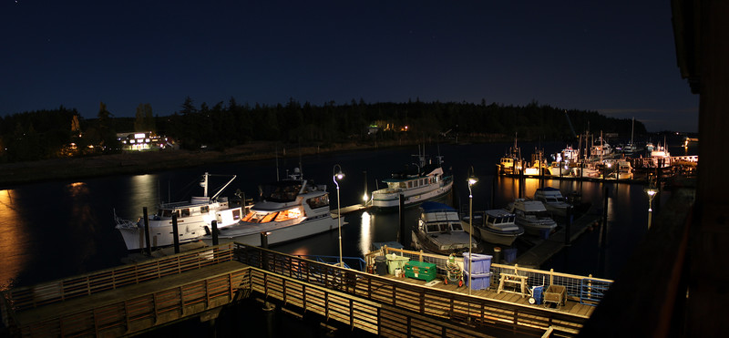 LaConner Marina - No Filters - 10-15 seconds - Pan Stitch