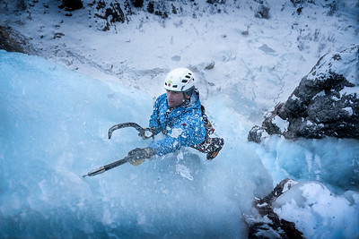 Ice Climbing in South Tirol