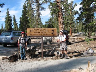 Backpacking to Upper Rock Creek