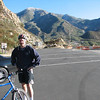 Mark at the start of the ride. It was about 45 degrees, but sunny and windless, so it was quite comfortable.