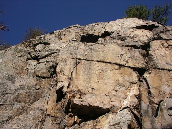Cresent Rocks, November 2005