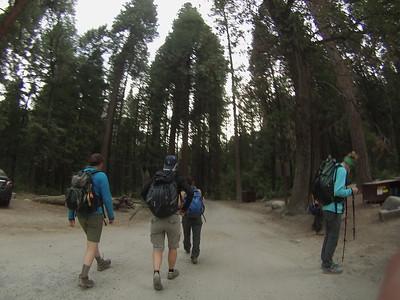 Half Dome hike 6/20/14