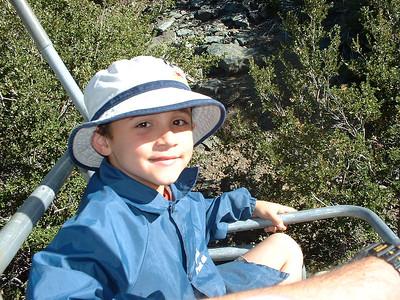 Mount Baldy with John - June 9, 2002
