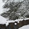 "This is the ""guardrail"" at San Antonio Falls."