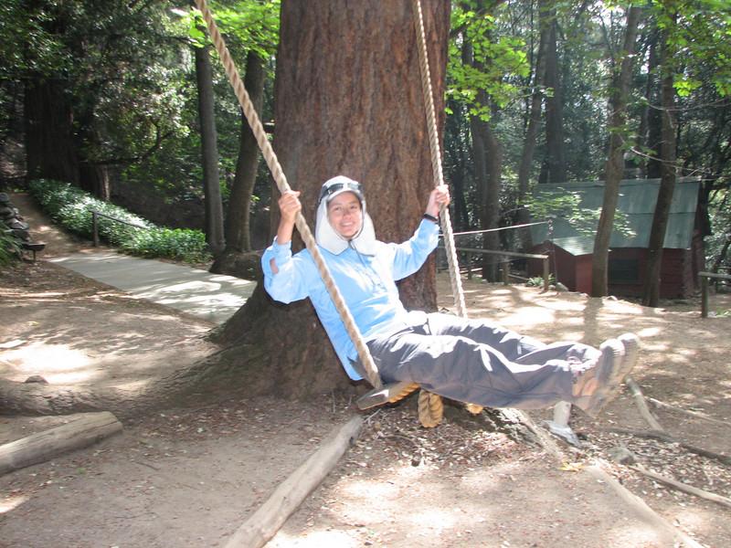 It really is a cool swing.
