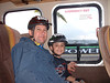We spent Friday night in Ensenada (in the van), then took the shuttle to Rosarito. Here we are on the shuttle.