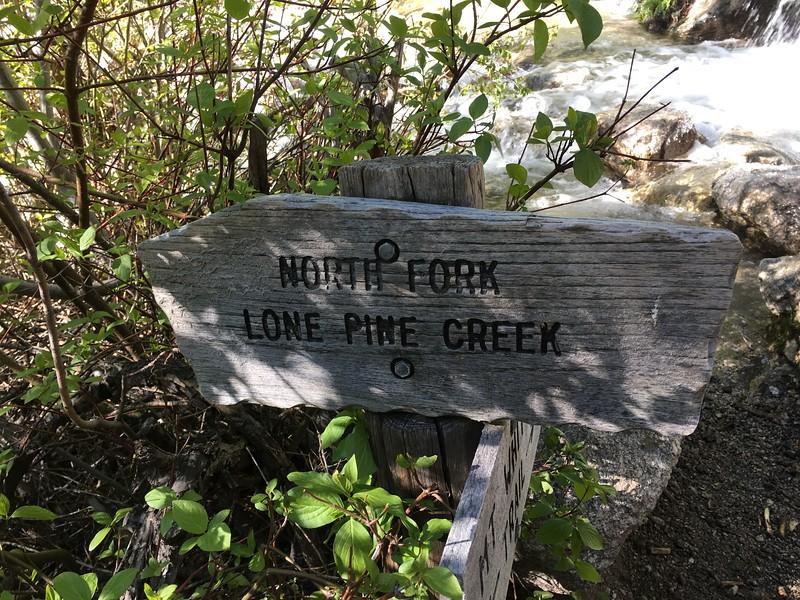 North Fork Lone Pine Creek