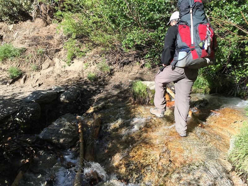Easy peasy creek crossing