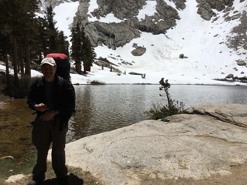 Mark at Mirror Lake