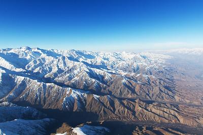 Hindu Kush Valley and Snowy Peaks
