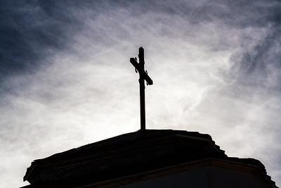 Steeple Cross in Silhouette