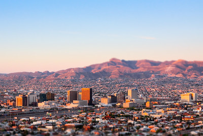 Downtown El Paso Sunrise