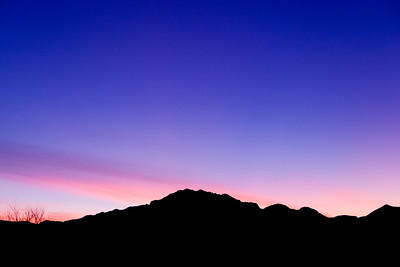Franklin Mountains at Twilight