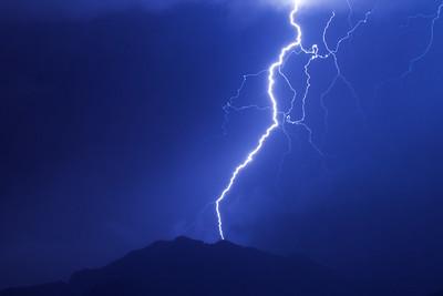 Mount Franklin Lightning