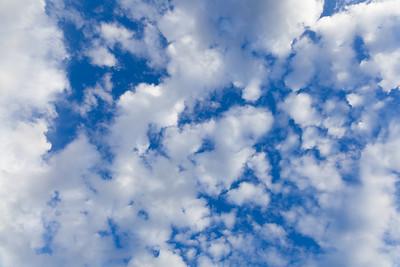 Cloudy Blue Sky 4