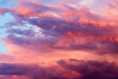 Stormy Southwest Sunset Horizontal