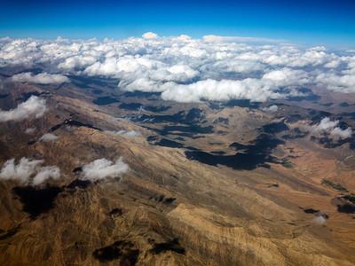 Cloudy Mountain Horizon