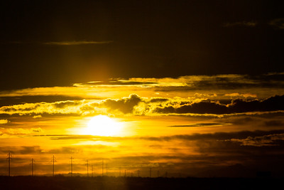 Sunrise Through Windshield