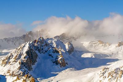 Snowy Hindu Kush Peak