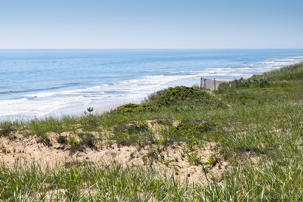high above Marconi Beach, Cape Cod National Seashore