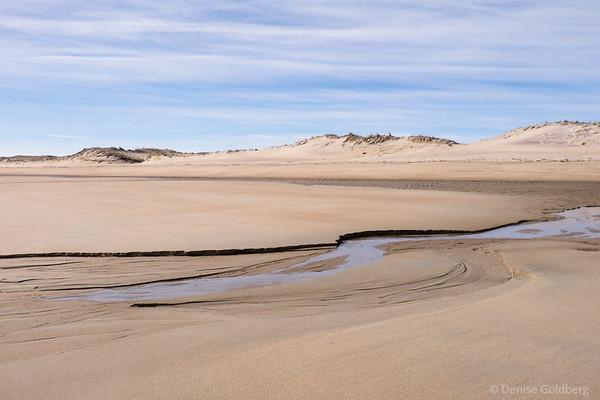 patterns in the sand, at Parker River National Wildlife Refuge