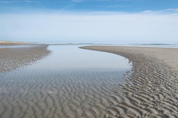 low tide at the Parker River National Wildlife Refuge